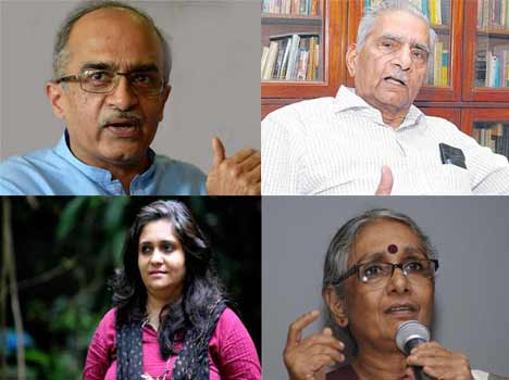 These could be five star activist on Modi's target