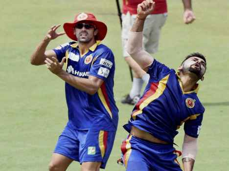 photo gallary: virat kohli and others cricketers are doing practice