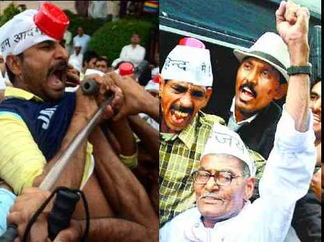 aam admi party leader navin jaihind dispute with chandigarh police
