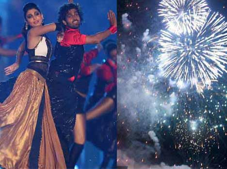 Special opening ceremony in IPL 8.