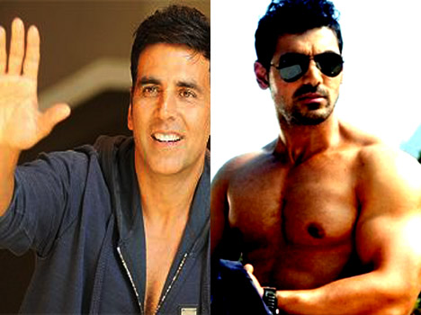 Who will be seen Dara Singh of John and akshay kumar