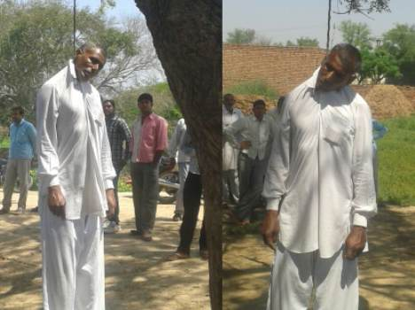 farmer suicide in haryana due to drop destruction, live pics