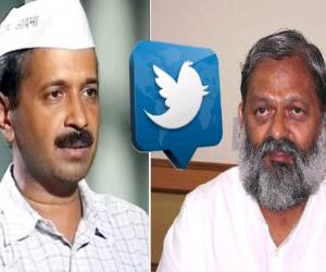 controversy on health minister tweet, rage of aap leaders
