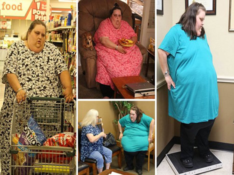 women who weighs 274 kilos