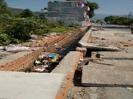 The new drain collapsed pwd