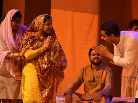 indo-pak 1947 division related drama played in chandigarh