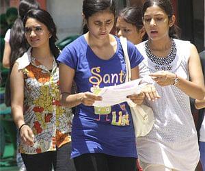 Jammu University students demand reevaluation; hold protest