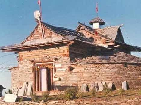 Shraai koti Mata temple in Himachal