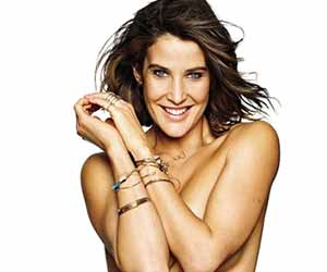 Cobie Smulders smoulders in topless photoshoot