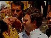rahul gandhi met farmers