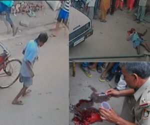 creepy murder of boy captured in cctv
