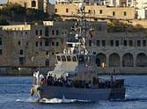 migrant boat capsize near italian point