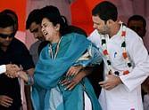 rahul gandhi and congress rally on ram leela maidan