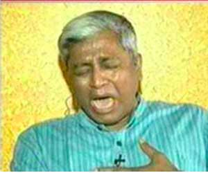 question over ashutosh cries
