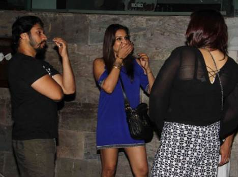 Bipasha Basu enjoys night out with Karan Singh Grover