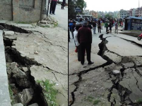 earthquake in nepal including north india