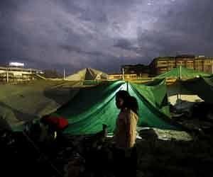 नेपालः भूकंप के बाद बारिश की आफत, 3218 ने गंवाई जान