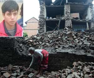 haryana footballer told horrible condition of nepal after earthquake