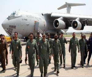 role of indian air force team at nepal earthquake