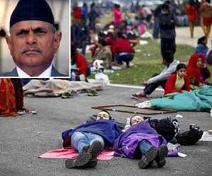 दहशत में नेपाल, राष्ट्रपति ने भी सड़क पर गुजारी रात