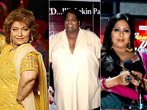bollywood's choreographers with heavy weight