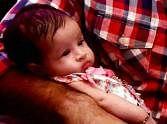 baby jeeva enjoys with dad Mahendra Singh Dhoni