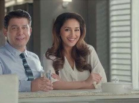 Madhuri Dixit husband does an advertisement