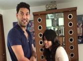 rohit sharma's fiancee ritika sejdev with yuvraj singh