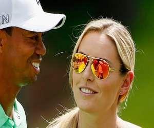Tiger Woods and Lindsey Vonn split up
