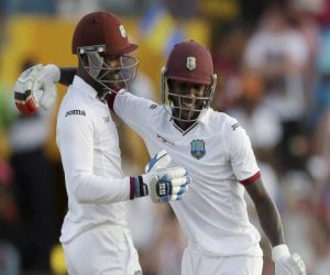 West Indies beat England by five wickets in third Test match