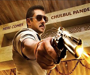 policeman character  played by salman khan