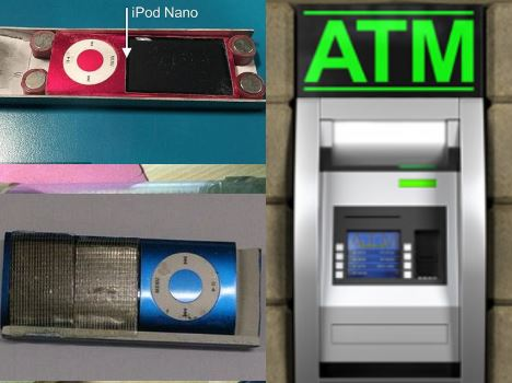 criminals are using pinhole cameras and iPods to try and steal your card details