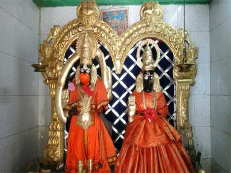 temple hanuman marriage and hanuman son story
