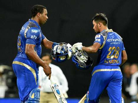 MI vs KKR: when Pandya, Pollard keep Mumbai in the hunt