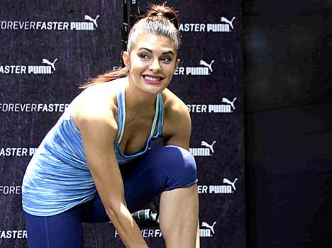 Jacqueline Fernandez launches Puma shoes for women