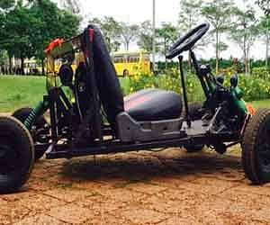 bike engined car in one lakh
