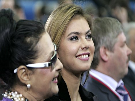 bladimir putin girlfriend Alina Kabaeva is pregnant