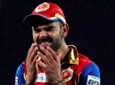 RCB's captain Virat Kohli reacts after bow out in IPL