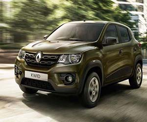 First Look at the New Renault Kwid, to be Launched in India Around Festive Season