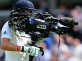 when joe root collidied to a steadicam operator at ground