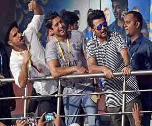 Bollywood stars shines in Eden Gardens before IPL 8 final