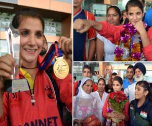 boxer mandeep kaur sandhu won world boxing championship