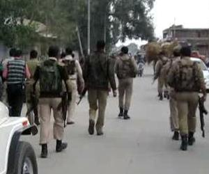 in pictures, terrorist attack at bsnl office in sopore