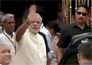 pm narendra modi reaches mathura in high security pictures