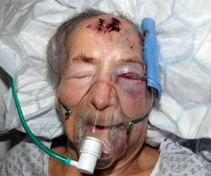 grandmother beaten to death