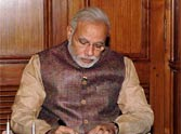 narendra modi wrote a letter to nation on one year of gevernment