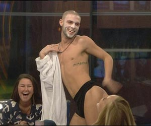 Gay Big Brother housemate Aaron Frew ejected over