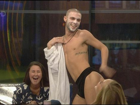 Gay Big Brother housemate Aaron Frew ejected over 'inappropriate behaviour'