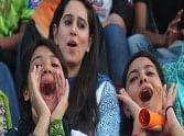 girls enjoys ODI matches in Pakistan