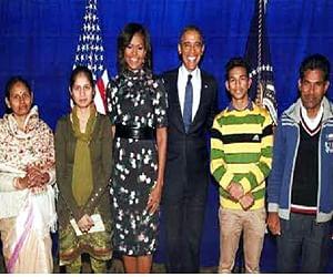 ओबामा ने बनाया झांसी के राज मिस्त्री रामदास से अटूट रिश्ता